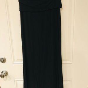 a.n.a black maxi skirt